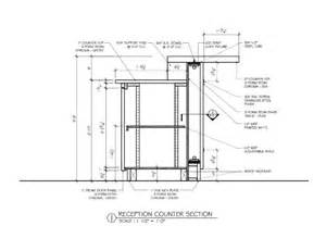 bar counter detail drawing search arch design