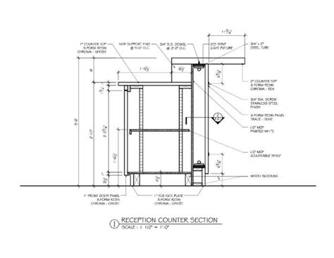 top bar section bar counter detail drawing google search arch design