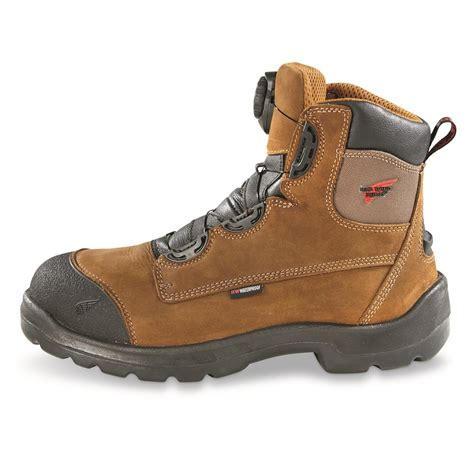 wing shoes work boots wing shoes s 8 quot waterproof steel toe work boots