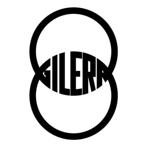 Auto Logo 3 Letters by Gilera Logo Sticker 3 Stickythings Nl