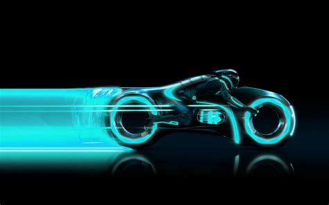 Photo Collection Neon Blue Tron Wallpaper