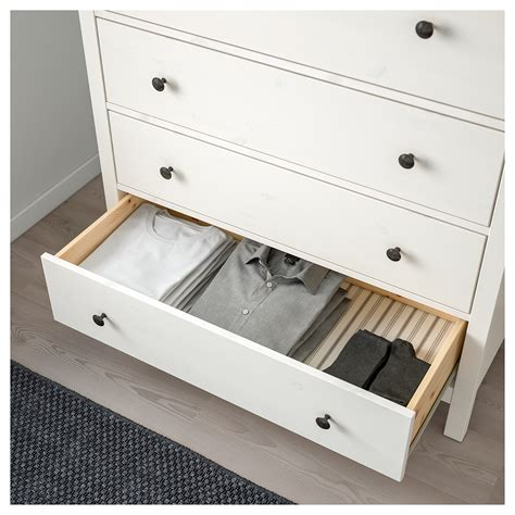 Hemnes Chest Of Drawers by Hemnes Chest Of 6 Drawers White Stain 108x131 Cm