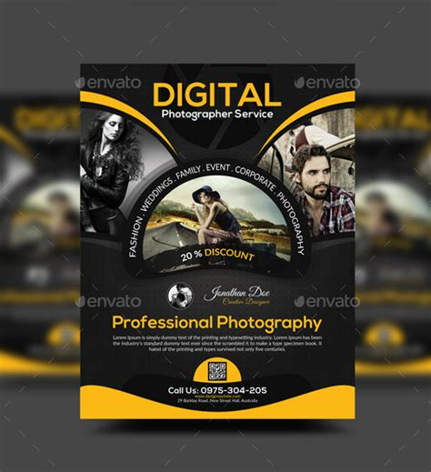flyer design vorlagen psd 38 photography flyer templates psd vector eps jpg freecreatives
