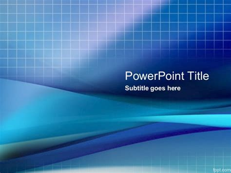 Business Powerpoint Templates Free Blue Grid Powerpoint Free Technology Powerpoint Templates