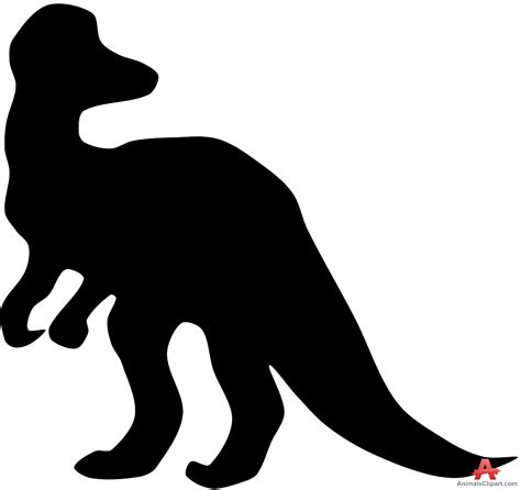 clipart dinosaur silhouette clipground