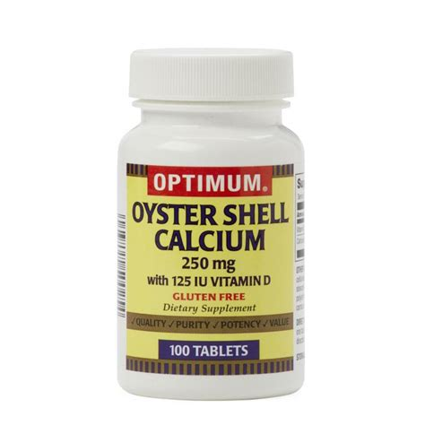 Vitamin D Generik Oyster Shell Calcium With Vitamin D Tablets Generic Otc