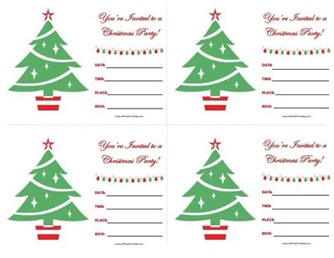 free printable christmas party invitations templates 111 best images about all free printable on pinterest