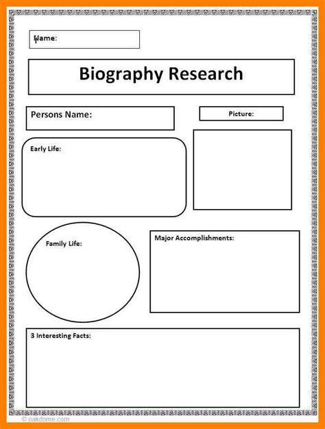 biography exle for ece 5 biography free template cna resumed
