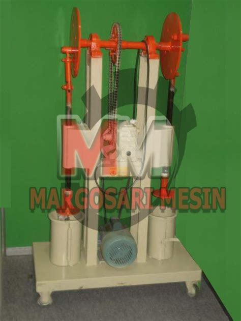 Pelet Apung Manual mesin press baglog jamur margosari mesin