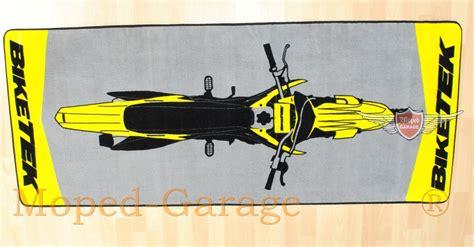 Motorrad Garagenmatte by Moped Garage Net Bike Tex Moped Roller Mokick Cross