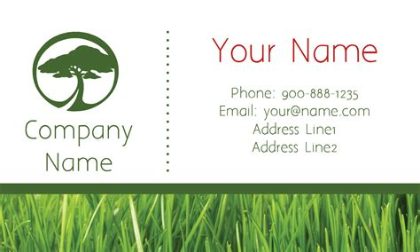 tree service business cards templates tree care white business card design 1304112