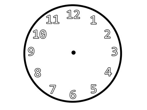 The Boot Kidz Telling The Time Clock Coloring Page