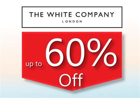 white company sale the white company up to 60 sale