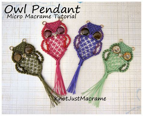 Macrame Tutorials - knot just macrame by sherri stokey new micro macrame
