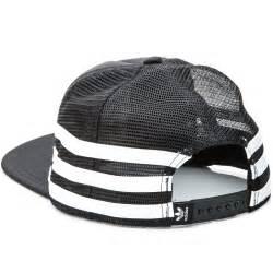 Tshirt Topi Trucker Adidas Black adidas foam trucker snapback hat black white