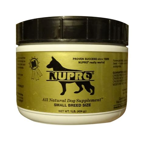 nupro supplement nupro gold small breed size supplement 1 lb naturalpetwarehouse