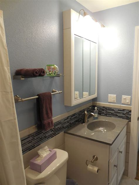 grey bathroom accent color gray tile blue accent tile purple accent color my