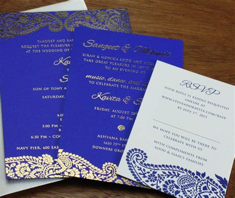wedding invitation card 25 best ideas about indian invitations on