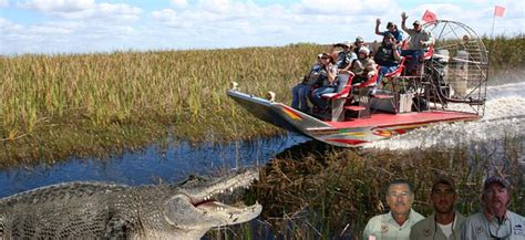 fan boat rides new orleans everglades premier airboat tour