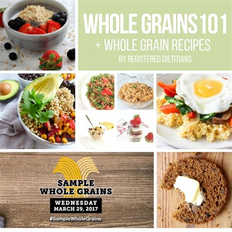 whole grains 101 whole grains 101 whole grain recipes from registered