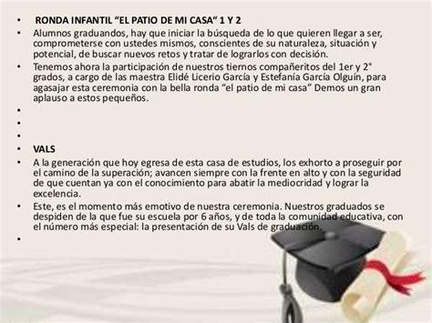 imagenes niños graduados programa ceremonia de graduaci 243 n con frases