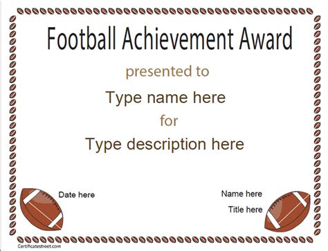 soccer certificate templates for word 1 best templates ideas