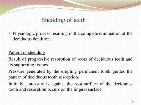 Shedding Of Teeth by Eruption Shedding