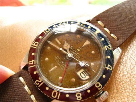 Crown Knob Rolex Gmt rolex 6542 tropical gilt no crown guard gmt master watches