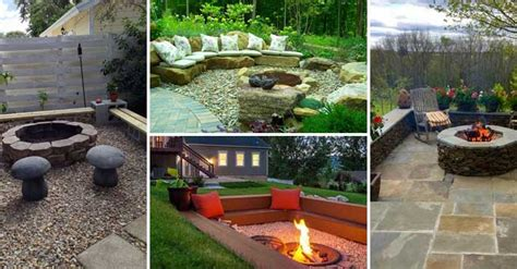 backyard pit area 22 backyard pit ideas with cozy seating area