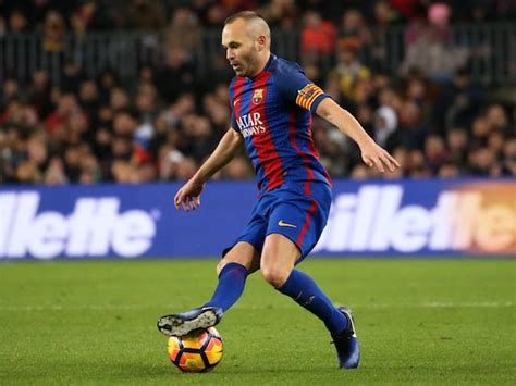 barcelona expecting andres iniesta departure sports mole