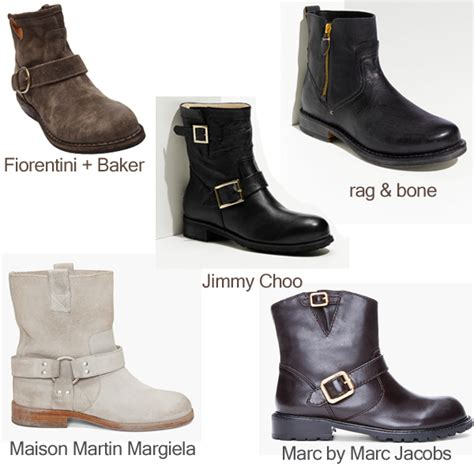 low moto boots marc by marc jacobs jimmy choo maison martin margiela
