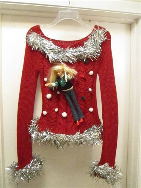 images of ugly christmas sweaters homemade eye catching attractive handmade ugly sweater ideas for