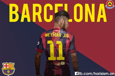 wallpaper neymar barcelona 2015 neymar barcelona wallpaper 2015 by hitman26 on deviantart