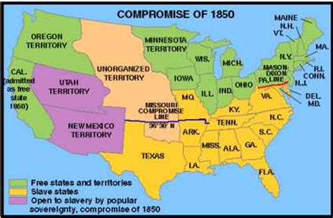 missouri compromise map map of the missouri compromise line swimnova