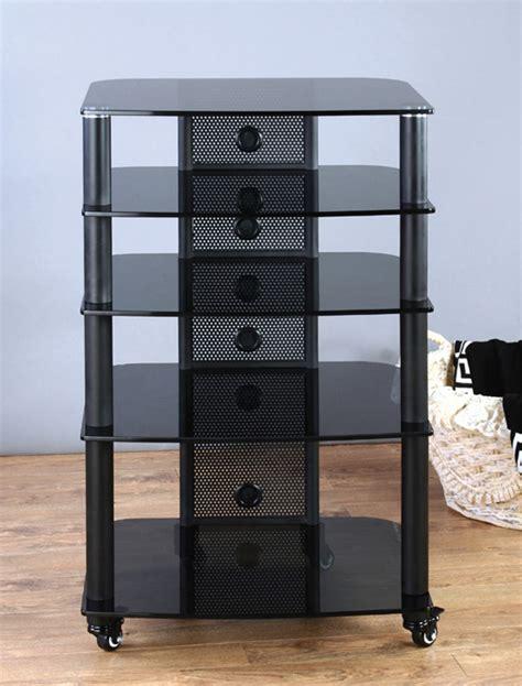 vti ngr405 5 shelf audio rack