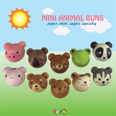 Squishy Licensed Chawa Mini Rainbow Cake Original mini puni maru squishy animal buns scented