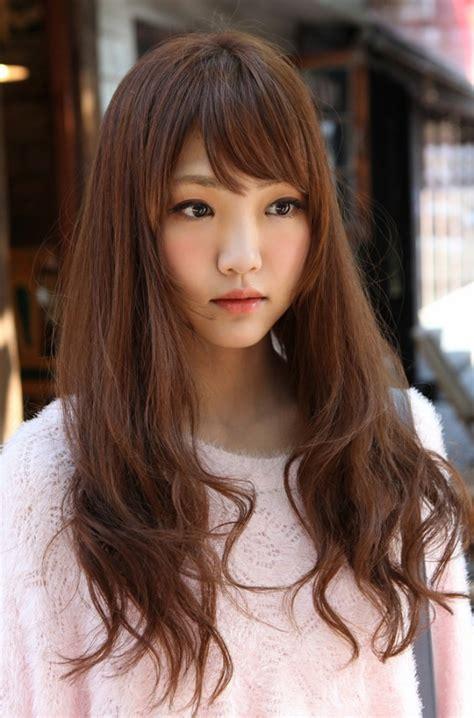 haircuts for long hair korean cute korean girls long hairstyle hairstyles weekly