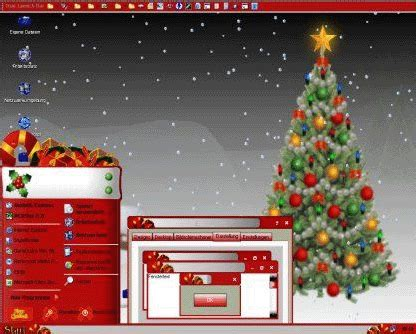 themes for windows 7 christmas christmas themes with
