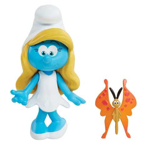 Figure Smurf Code 4 smurfs the lost blind bag mini figure smurfette and steve smurfs shop by character