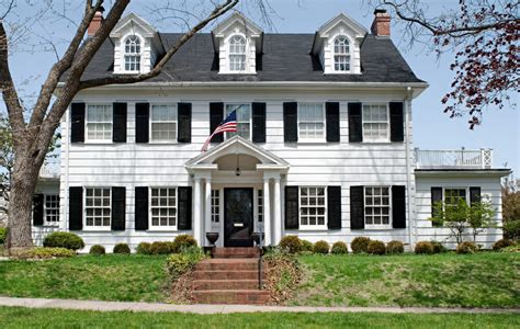 white homes our favorite 4th of july themed homes modernize