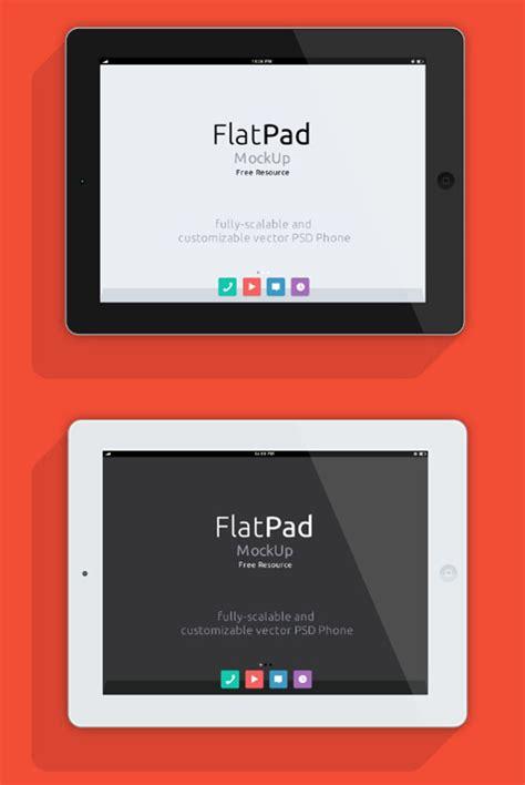 flat design ipad mockup ipad psd flat mockup free vector site download free
