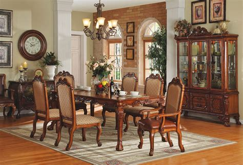 cherry dining room sets traditional dining room home traditional dining room furniture sets marceladick com