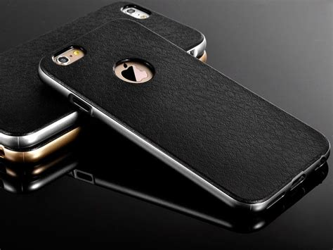 Casing Iphone 5g Gold jual luxury metal frame iphone 5 5s 5g leather gold