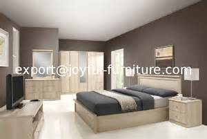 Particle board modern home furniture bedroom furniture set king bed
