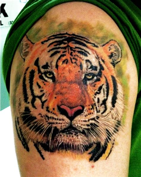 henna tiger tattoo tiger portrait tattoos paint henna