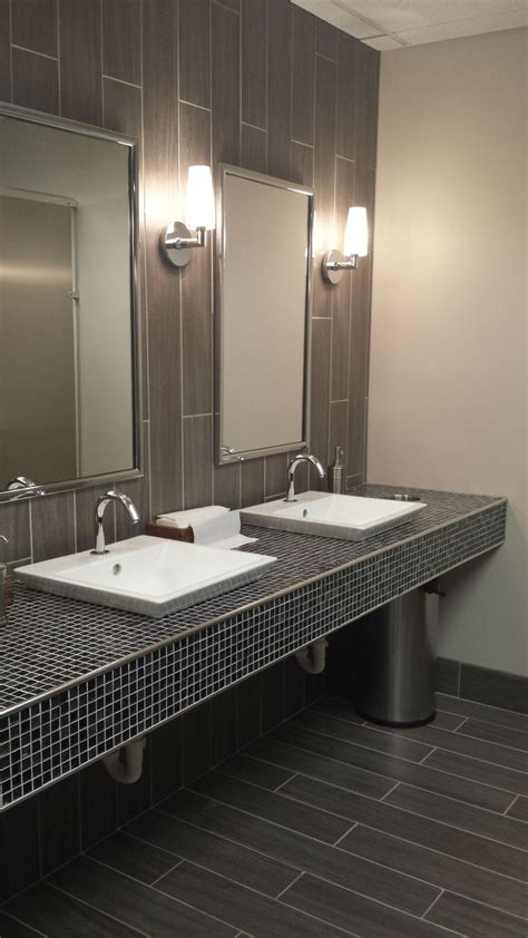 commercial bathroom design public restroom shannon bellanca bellanca ketron tile
