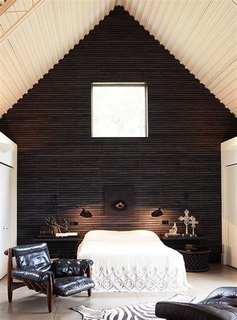 stylish bedrooms  wood clad walls digsdigs