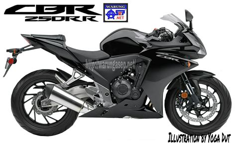 Winglet Cbr250 Rr 2 seperti inikah honda cbr250rr warna hitam sangar nan elegan warungasep