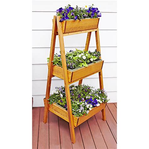 Outdoor Planter Plans by Easy A Frame Planter Woodworking Plan From Wood Magazine