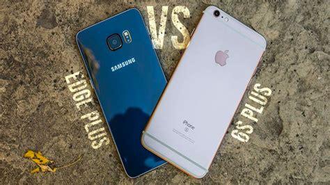 iphone    samsung galaxy  edge  comparison